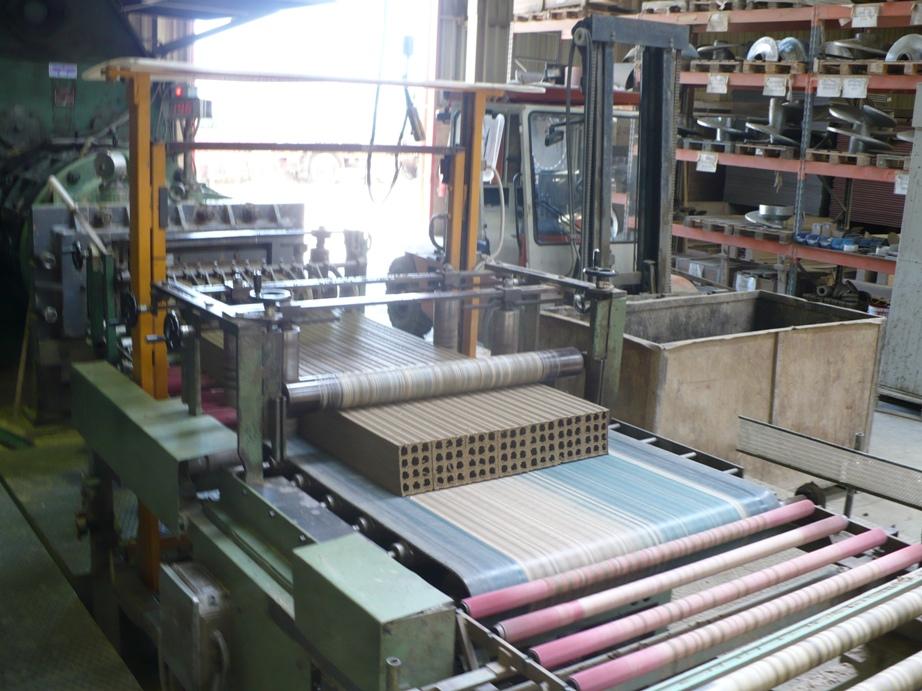 оборудование для производства керамического кирпича